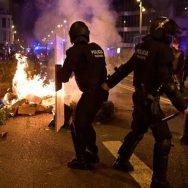 بارسلونا ، کورونا وائرس ، پابندیوں ، احتجاج ، 92 نیوز