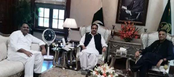 وزیراعلیٰ بزدار ، شاہ محمود ، اسد عمر ، دیگر کی ملاقات ، اپوزیشن تحریک ، تبادلہ خیال ، 92 نیوز