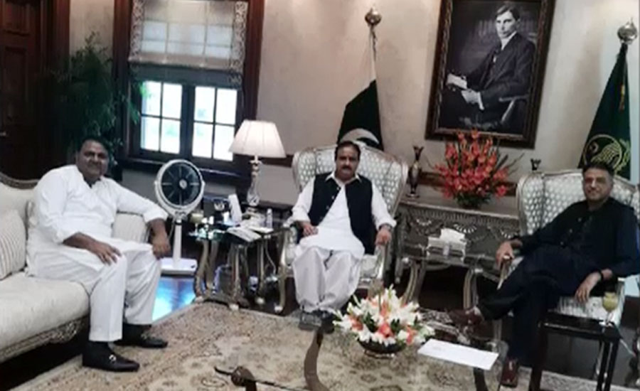 وزیراعلیٰ بزدار سے شاہ محمود، اسد عمر ودیگر کی ملاقات، اپوزیشن تحریک پر تبادلہ خیال