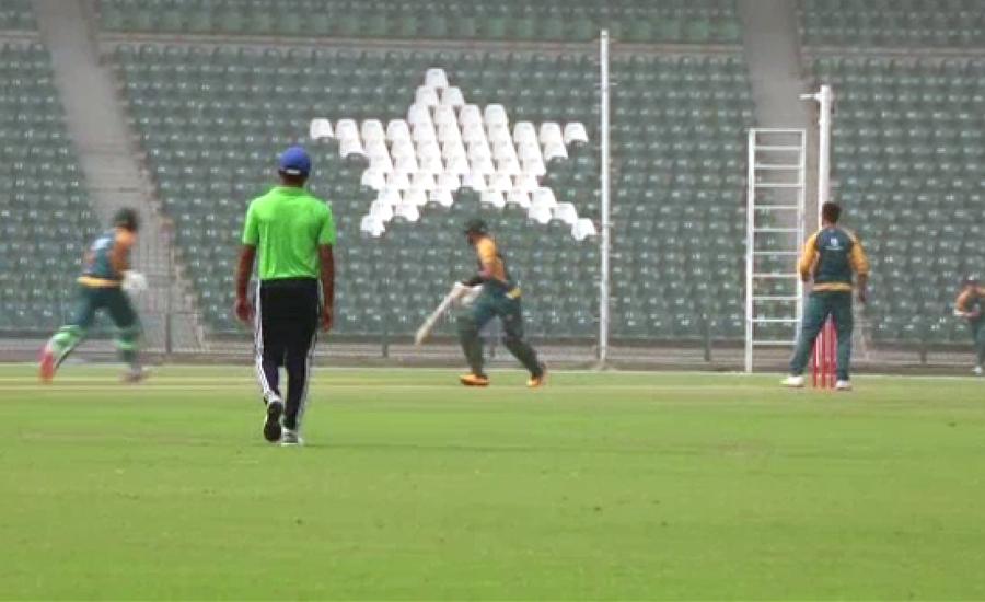 پاکستان اور زمبابوے کی ٹیمیں آج راولپنڈی اسٹیڈیم میں ٹریننگ کریں گی