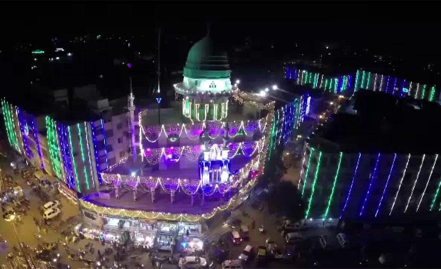 جشن عید میلاد النبی ﷺ آج مذہبی جوش و خروش سے منایا جا رہا ہے