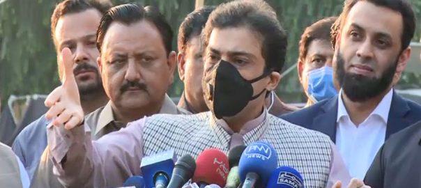 کابینہ ، مافیاز بیٹھے ہیں ، عمران خان ، سرپرست ، حمزہ شہباز ، پنجاب اسمبلی ، میڈیا سے گفتگو ، لاہور ، 92 نیوز
