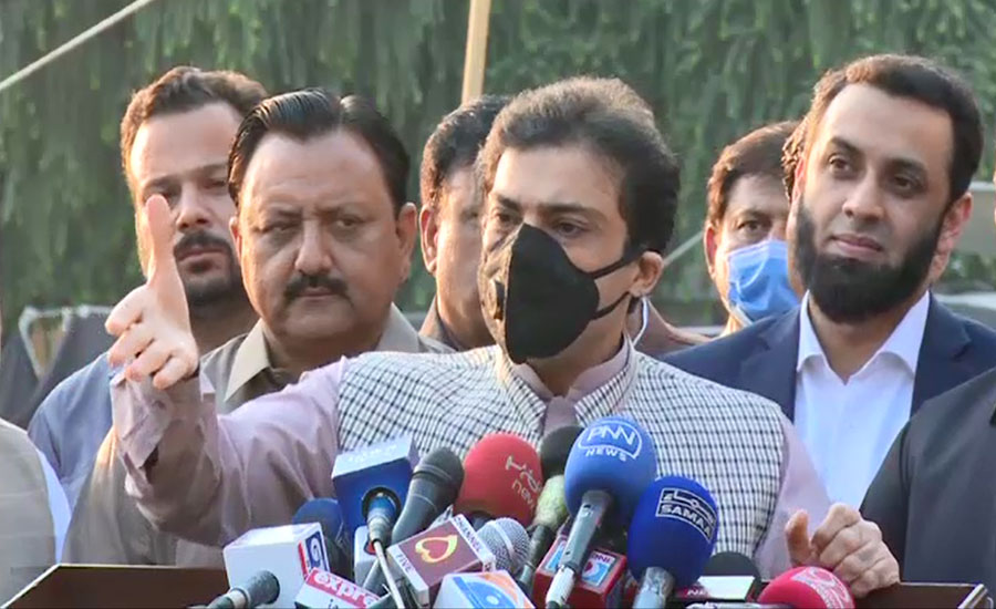 کابینہ میں مافیاز بیٹھے ہیں، عمران خان انکے سرپرست، حمزہ شہباز