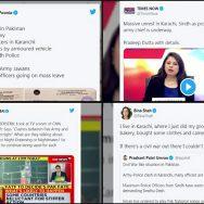 بھارتی سوشل میڈیا ، مسلسل پاک فوج ، کشمیر ، سی پیک ، پراپیگنڈا ، اسلام آباد ، 92 نیوز
