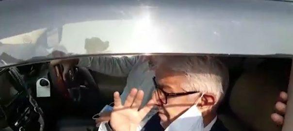 اقامہ انکوائری کیس ، نیب ، خواجہ آصف ، ایک گھنٹہ 40 منٹ ، پوچھ گچھ ، اسلام آباد ، 92 نیوز