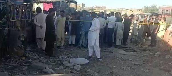 کراچی ، شیریں جناح کالونی ، دھماکہ، افراد ، زخمی