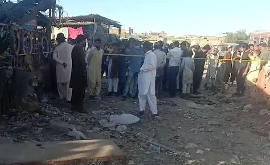 کراچی کے علاقے شیریں جناح کالونی میں دھماکہ، چھ افراد زخمی