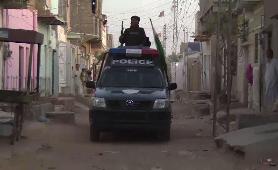 کراچی میں مبینہ ٹاؤن پولیس کی کارروائی ، گینگ وار کا دہشت گرد گرفتار