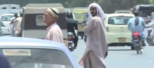 کراچی ، گرمی، لہر ، پارہ ، 40 ڈگری