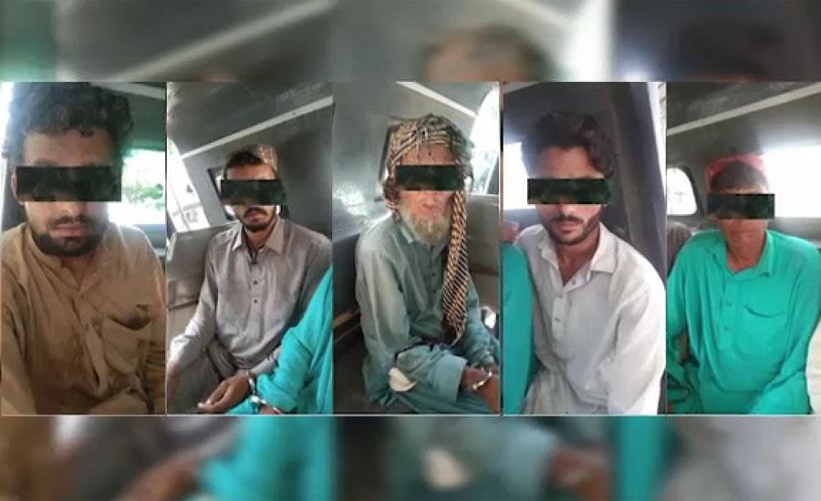 کراچی میں خاتون سمیت 9 اغواء کار گرفتار