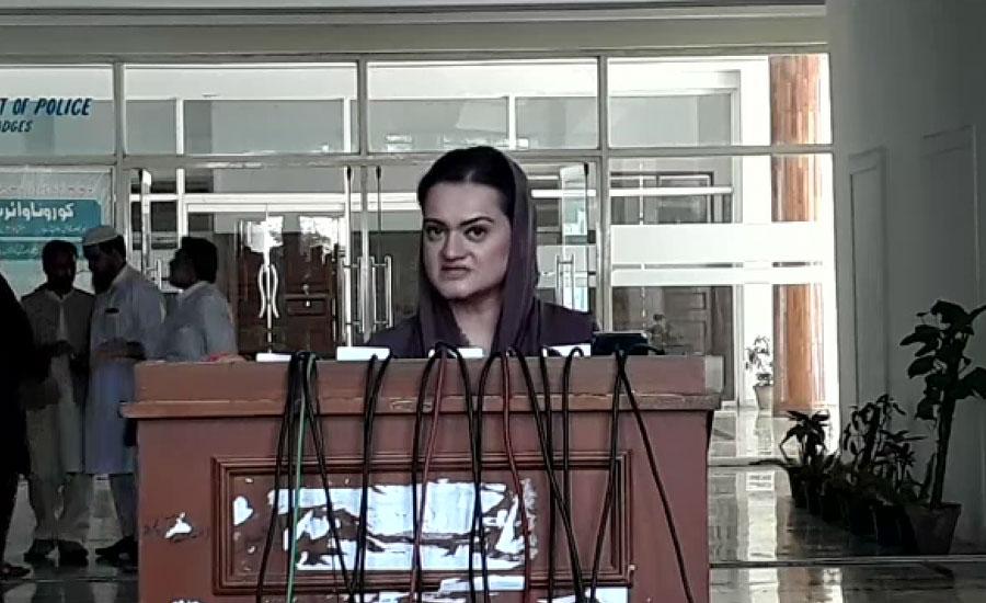غداری کے مقدمات اور الزامات لگا کر انکا دفاع کیا جارہا ہے ، مریم اورنگزیب