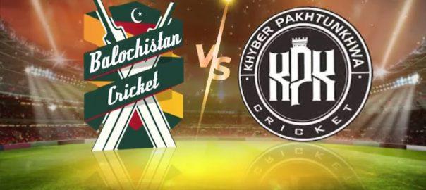 نیشنل ٹی ٹوئنٹی کپ ، آج ، بلوچستان ، خیبر پختوا ، سینٹرل پنجاب ، سندھ ، مقابلہ ہوگا