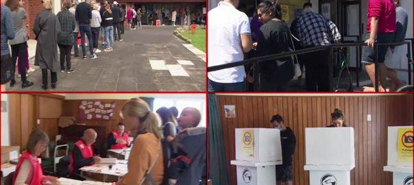 نیوزی لینڈ ، عام انتخابات ، جیسنڈا آرڈن ، جوڈیتھ کولنز ، پارٹیوں ، کانٹے دار مقابلہ جاری ، 92 نیوز