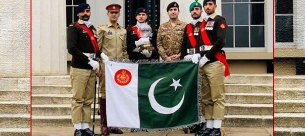 پاکستان آرمی ، بین الاقوامی ڈرل مقابلہ ، پیس اسٹکنگ جیت لیا ، ڈی جی آئی ایس پی آر ، راولپنڈی ، 92 نیوز