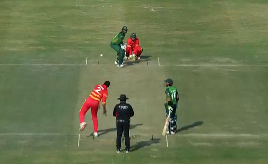 پاکستان کی زمبابوے کو پہلے ون ڈے میں 26 رنز سے شکست