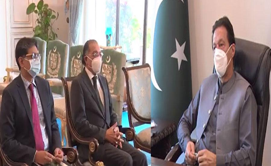 وزیراعظم سے منیر اکرم کی ملاقات، جنرل اسمبلی کے 75 ویں اجلاس پر بریفنگ