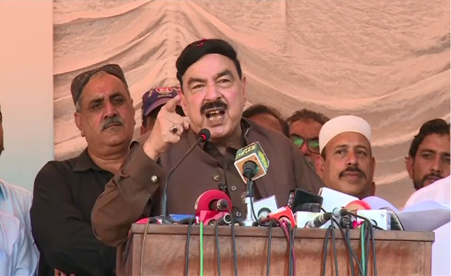 عمران خان اسمبلیاں توڑ دینگے پر کرپٹ لوگوں کو این آر او نہیں دینگے، شیخ رشید