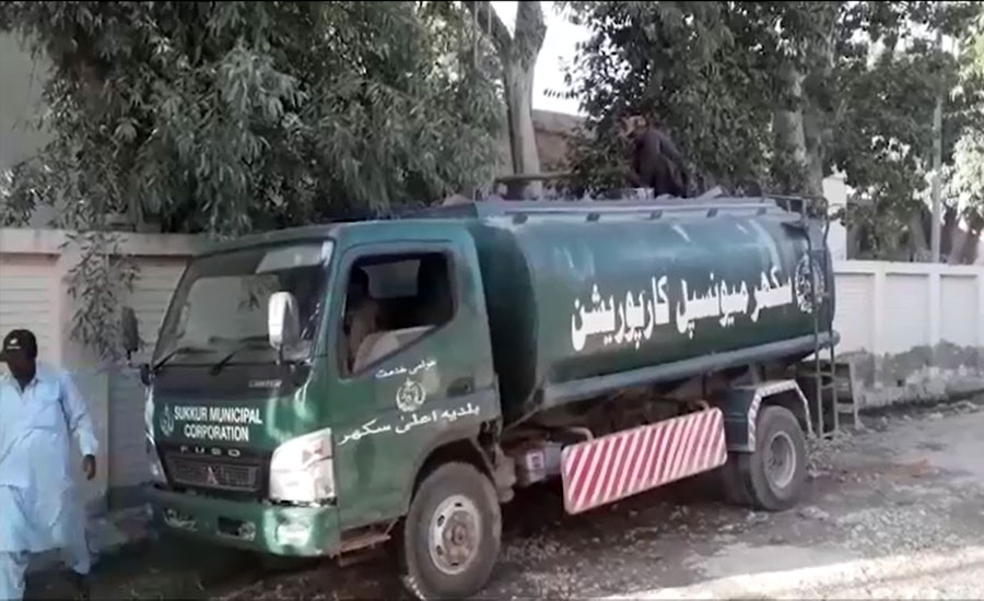 سکھر کو پانی فراہم کرنے میں ناکام میونسپل انتظامیہ ٹینکر مافیا بن گئی
