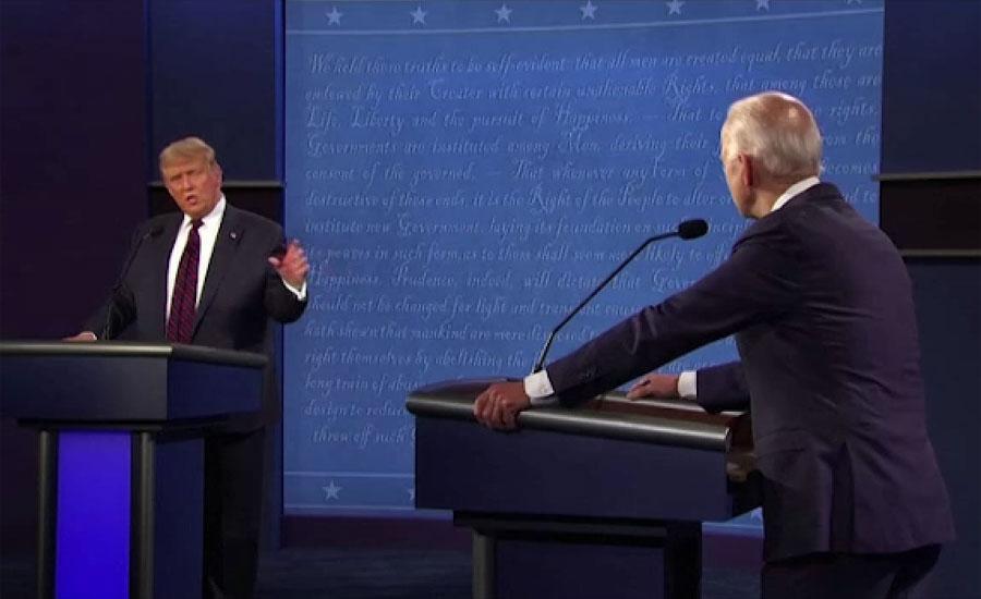 امریکی صدر کا جوبائیڈن کے ساتھ ورچوئل مباحثے میں شرکت نہ کرنے کا اعلان