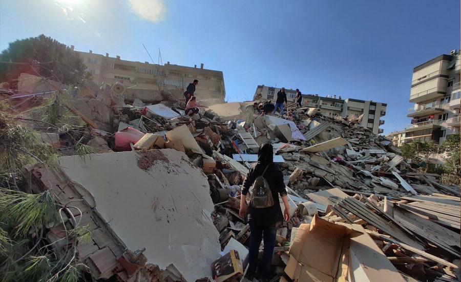 ترکی زلزلہ میں جاں بحق افراد کی تعداد 26 ہوگئی، 800 سے زائد زخمی