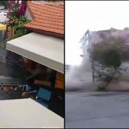 ترکی ، زلزلے کے جھٹکوں ، عمارتیں زمین بوس ، انقرہ ، 92 نیوز