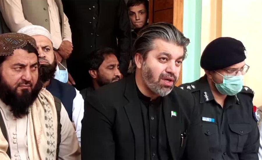 اپوزیشن رہنما وہ بیانیہ دے رہے ہیں جو ہندوستان کا ہے ، علی محمد خان
