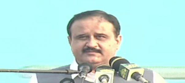 CM Punjab Sardar Usman Buzdar