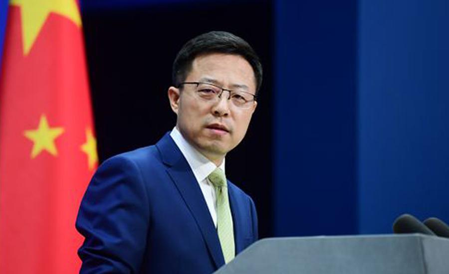 سی پیک منصوبے کو سبوتاژ کرنیوالی تمام کوششوں کو ناکام بنا دیا جائیگا، چین