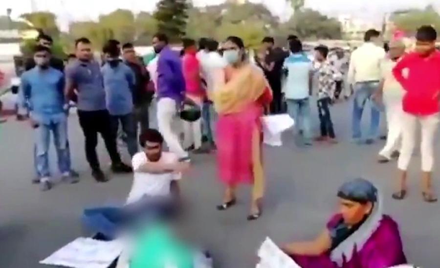 بھارتی ریاست بہار میں مسلم لڑکی کو زندہ جلانے والے ملزم تاحال گرفتار نہ ہو سکے