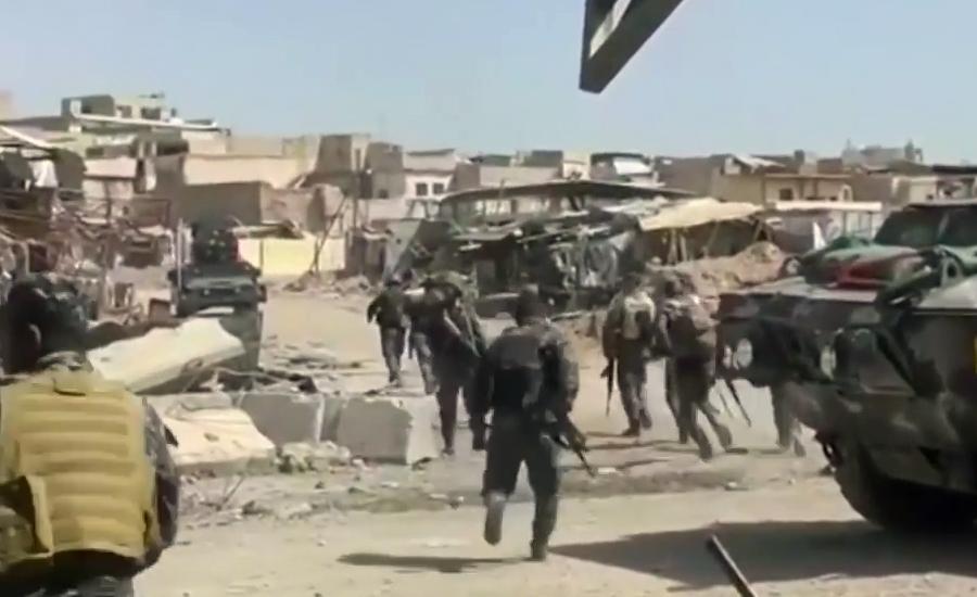بغداد کے قریب داعش کے حملے میں 11 افراد جاں بحق