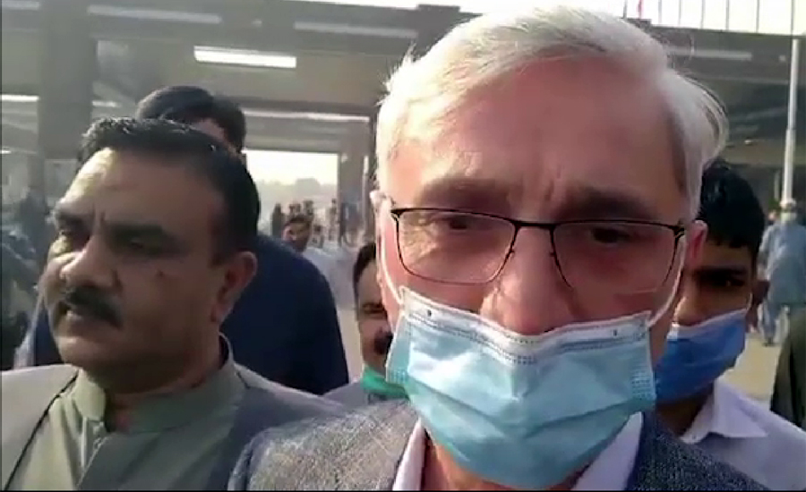 پی ٹی آئی رہنما جہانگیر ترین سات ماہ بعد وطن واپس آگئے