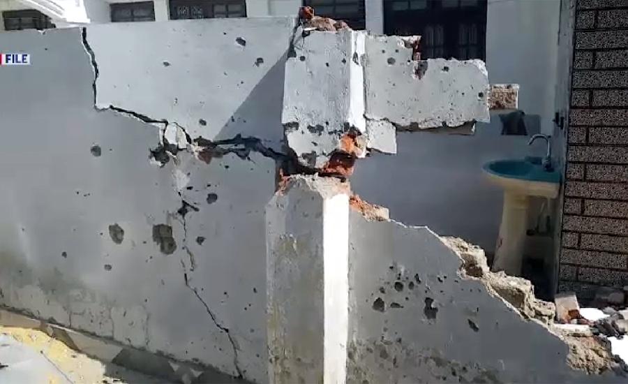 بھارتی فورسز کی ایل او سی کے باگسر سیکٹر میں فائر بندی کی خلاف ورزی،  فائرنگ سے شہری زخمی