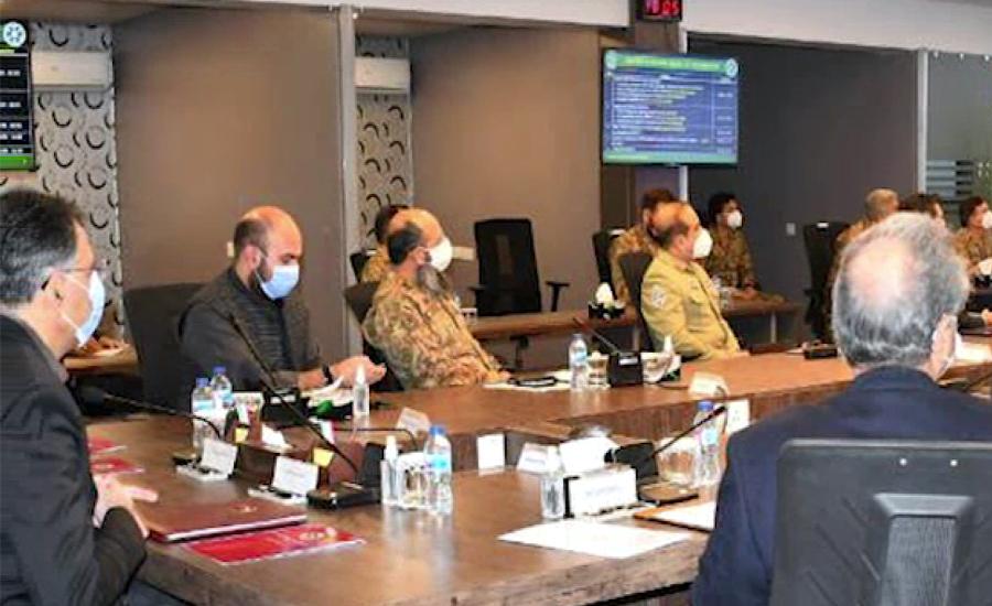 اسد عمر کی زیر صدارت این سی او سی کا اجلاس ، کورونا وائرس کی دوسری لہر کا جائزہ