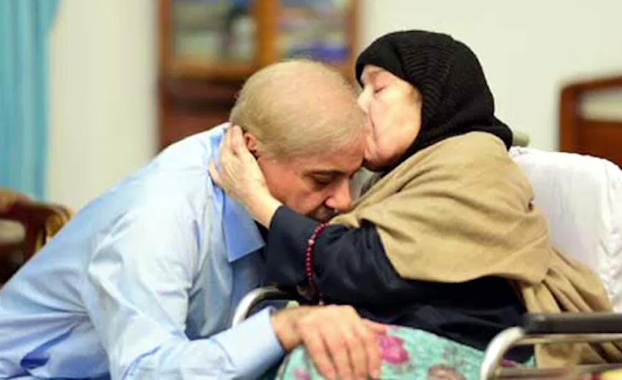 جیل میں قید شہباز شریف والدہ کے انتقال کی خبر سن کر زار و قطار رو پڑے