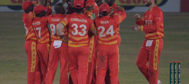 زمبابوے ، پاکستان ، سپر اوور ، ہرا ، تیسرا ون ڈے ، جیت