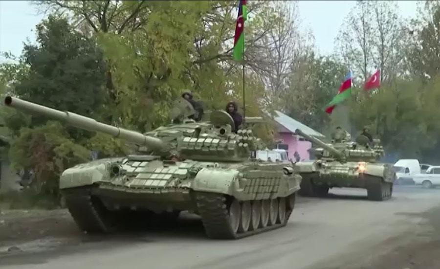 امن معاہدہ، آرمینیا نے ضلع اغدام کا کنٹرول آذربائیجان کی فوج کے حوالے کردیا