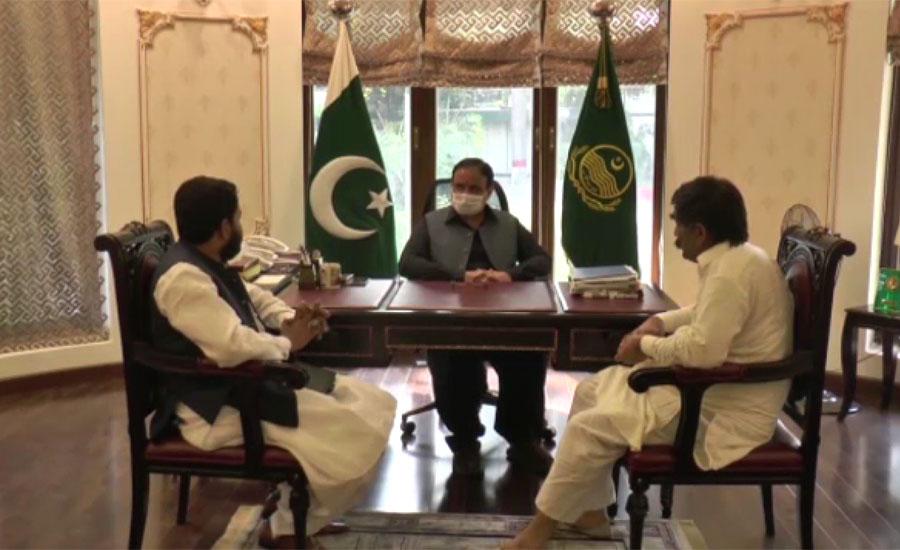 وزیراعلیٰ پنجاب سے ایم پی اے اظہر عباس چانڈیا کی ملاقات ، حلقے کے مسائل سے آگاہ کیا