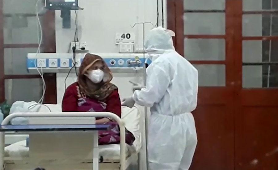 کورونا سے مزید 42 افراد جاں بحق، 2 ہزار 843 افراد وائرس میں مبتلا