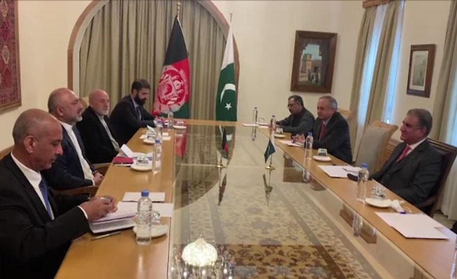 افغان امن عمل آخری مرحلے میں داخل ہو چکا ہے ، شاہ محمود قریشی
