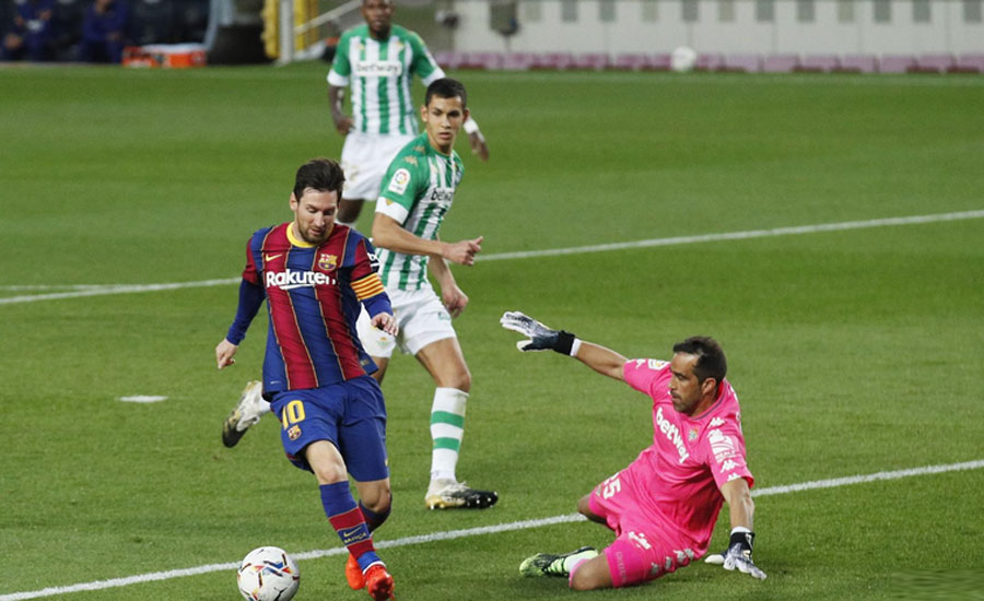 بارسلونا نے ریئل بیٹس، بائرن میونخ نے ڈورٹمنڈ اور چیلسی نے شیفلڈ یونائیٹڈ کو ہرادیا