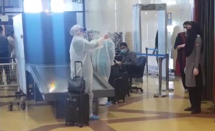 کراچی ایئرپورٹ پر مسافروں کیلئے ماسک، بیرون ملک سفر کیلئے کورونا سرٹیفکیٹ لازمی قرار