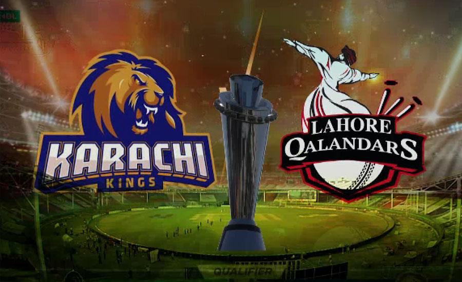 پی ایس ایل فائیو کا فائنل کل لاہور قلندرز اور کراچی کنگز کے درمیان کھیلا جائے گا