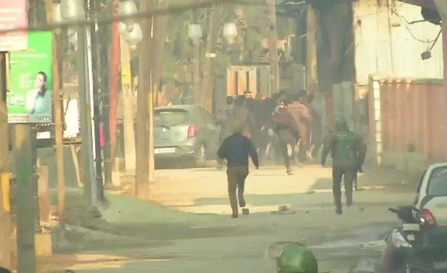 بھارت کے غیر قانونی زیر قبضہ جموں و کشمیر میں ریاستی دہشت گردی ، ایک کشمیری نوجوان شہید