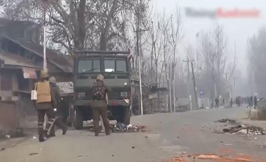 بھارت کے غیر قانونی زیر قبضہ کشمیر میں قابض فوج کے ہاتھوں 2 کشمیری شہید