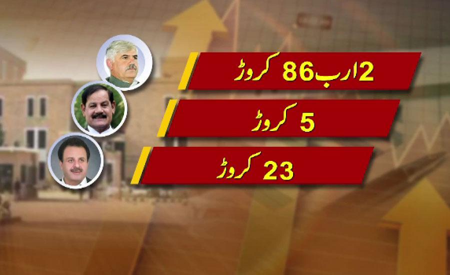 محمود خان 2 ارب 86 کروڑ سے زائد مالیت کے اثاثوں کے مالک