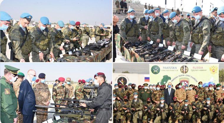 """پاکستان اور روس کے مابین پانچویں """"دروزبہ"""" فوجی مشقوں کا آغاز"""