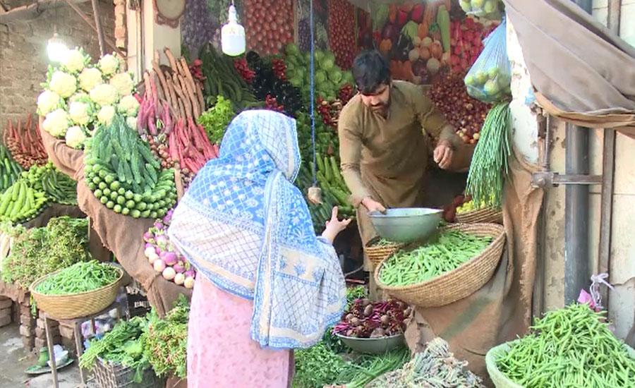 پشاور میں چکن اور سبزی کی قیمتوں نے شہریوں کے اوسان خطا کردیئے