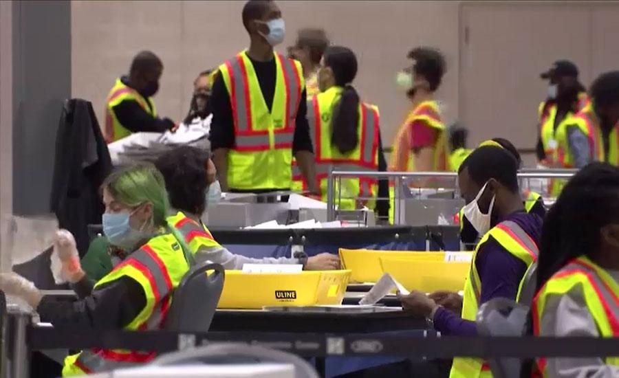 امریکی سپریم کورٹ کا پنسلوینیا حکام کو دیر سے پہنچنے والے ووٹ الگ کرنیکا حکم