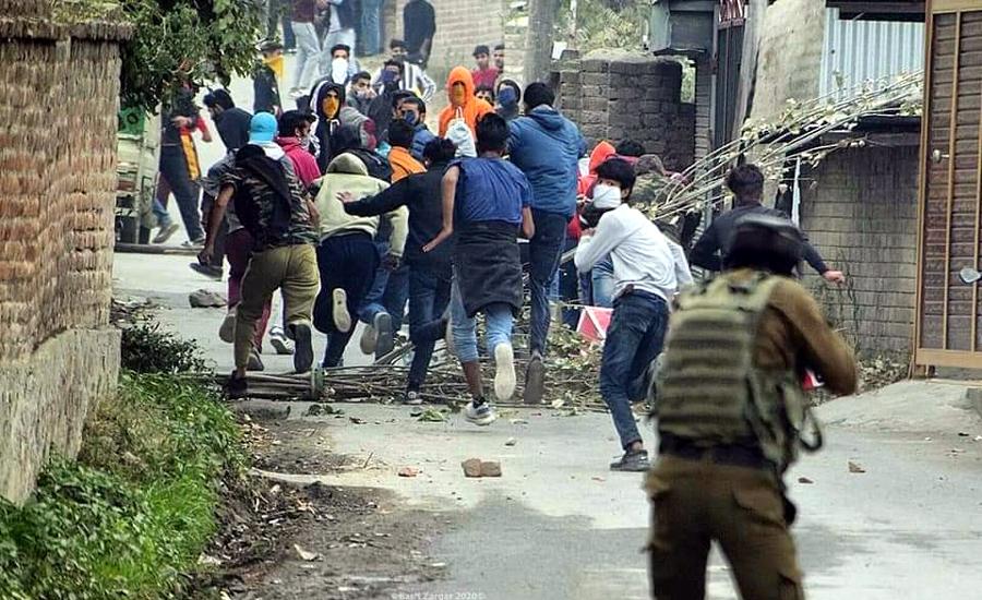 بھارت کے غیرقانونی زیرقبضہ کشمیر میں قابض فورسز کی ریاستی دہشت گردی ، دو کشمیری نوجوان شہید