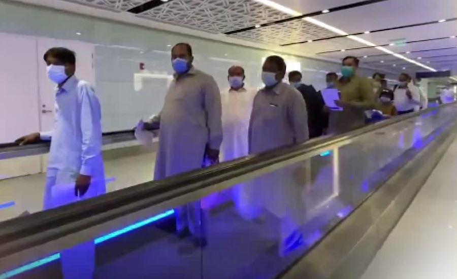 پاکستانی عمرہ زائرین کو کئی ماہ بعد مسجد نبویؐ میں داخلے کا شرف حاصل ہو گیا